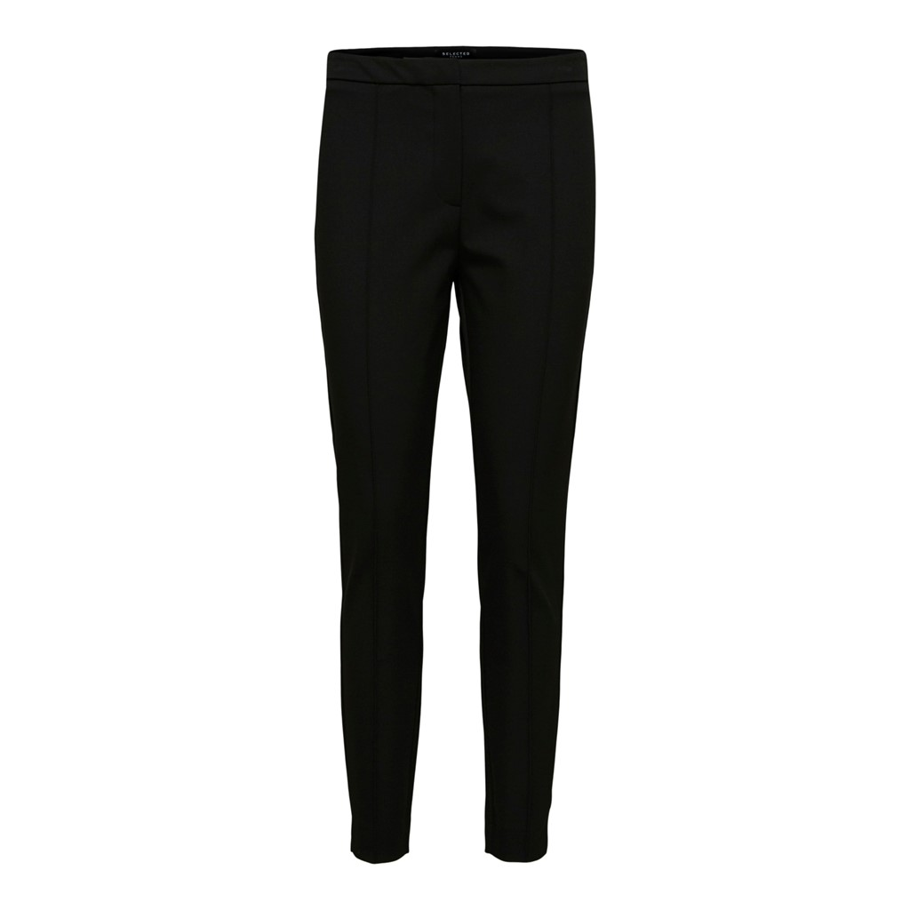 SELETED FEMME SLFILUE MW PINTUCK PANT